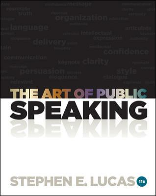 The Art of Public Speaking with Connect Plus Access Card-9780077601706-11-Lucas, Stephen Bernard-McGraw-Hill